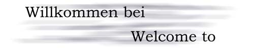 Willkommen / Welcome